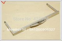 6 3/4 inch silver purse frame