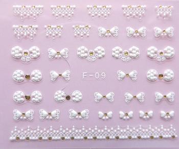 Nail art applique 3d three-dimensional nail art finger applique nail art accessories nail art