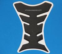 Free Shipping 2pcs Motorcycle Carbon Fiber Tank Pad TankPad Protector Black