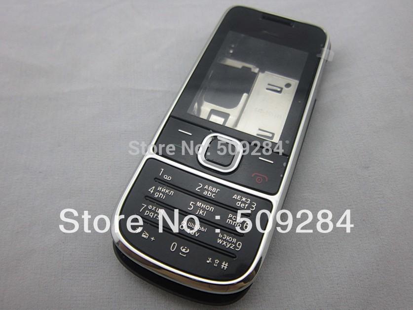 Full Housing Fascia Case Cover + Russian Language Keyboard for Nokia 2700(China (Mainland))