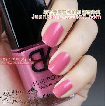 Bottle nail art casebottle bk nail polish oil 18ml taro pink 77