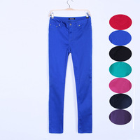 Plus size women's c5-86 new arrival 2013 summer thin high elastic high waist casual pants