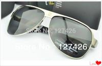 free shipping +2013 Hot sale+ Polarized sunglasses male sunglasses men High quality brand sun glasses Original box