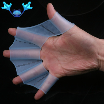 Free Shipping silicone material Frog palm swimming fins for hands_sailor webbed palm flying fish webbed gloves flippers-kathy