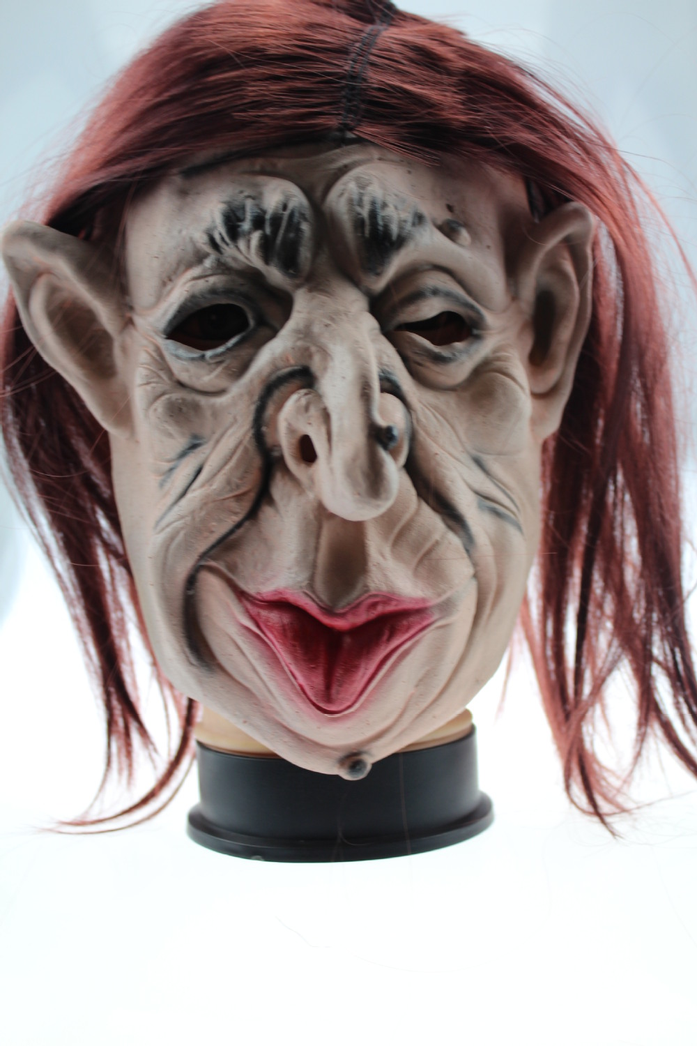 HI Creepy Halloween Costume The Old Man Latex Mask(China (Mainland))