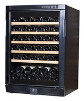 Sicao fashion jc-160a compressor temperature wine cooler wine cabinet solid wood shelf household