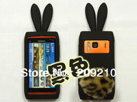 For Nokia N8 N8-00 case Rabbit soft silicone Case cartoon case  with high quality 1pcs/lot