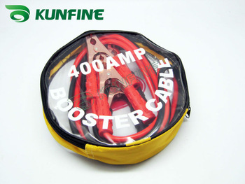 Free shipping! Wholesale price @ car booster cable 400Ampere 2meters long