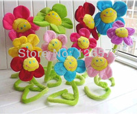 plush flower  sun flower  multiple- function flower used as curtain pin  20 pcs free shipping