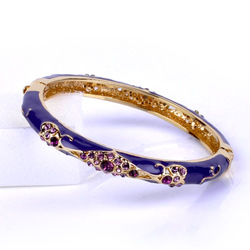 Cloisonne Chinss Womens Style Light Industrial Arts bracelets for women gold plated 2013 FREE SHIPPING(China (Mainland))