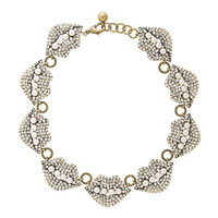 Pl974 Fashion Necklace Luxury Full Rhinestone Sexy Accessories Rhinestone Pearl Chokers Necklace For Woman Free Shipping