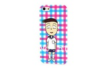 Cute Chi-bi Maruko Couples Lovers Design Lovely Hard Case Cover For iPhone 5 Free SHipping