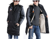 2013 new winter In the long section Outdoor Men Jackets fashion thickening men's cotton-padded clothes jacket /L/XXXXL