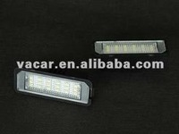 High quality canbus Golf 6 LED license plate light