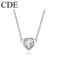 CDE 2013 Fashion Heart Choker Necklace Beautiful Pendant Necklace N0253B