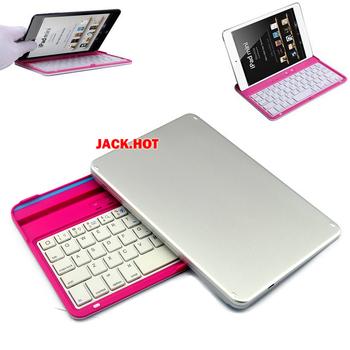 New Wireless Bluetooth 3.0 Slim Aluminum Keyboard for iPad Mini