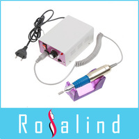 Electric Nail Manicure Polishing Machine Drill File Machine with Foot Pedal(110V/220V, EU Plug), Free Shipping