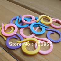 Multicolour circle opening needle buckle, knitting accessory, 20pcs per set, free shipping