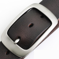 briefs Male belt first layer of cowhide genuine leather fashion watch men's belt casual plus lengthen strap