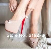 Free shipping 2013 women hot saling Fashion Sexy High Heels Blue Peep toe shoes/Ladies Black Platform pump shoes size:35-39 L505