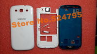Original Replacement Parts for samsung galaxy s3 i9300 housing full set Cover Carcase case siii Accessories