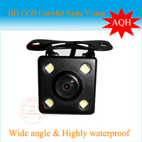 CCD HD night vision car rear view camera rear  view rear view camera for all auto car Universal camera with LED lights