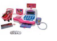 Polaroid child cash register toy supermarket cash register toy calculator function