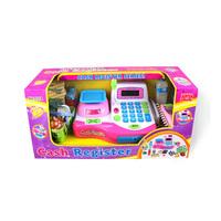 Child supermarket cash register baby cash desk children toy w016 free shipping
