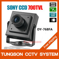 "Big Sale,1/3"" SONY CCD 700TVL Mini Small Video Surveillance Camera ,Night Vision CCTV Camera ,Security Camera ,Free Shipping"