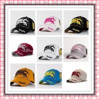 2013 new fashion baseball caps visor BAT popular embroidery caps cotton twist cap 1pcs 10 color hats and caps free shipping