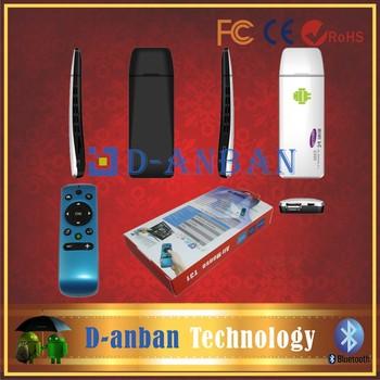 [Free T31 Air mouse]+TV Stick Box RK3188 Quad Core Cortex A9 2GB RAM 8GB ROM E888 3G Bluetooth White Color Google Android 4.2