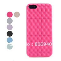 Salient Point Design TPU Soft Case for iPhone 5 (Assorted Colors)