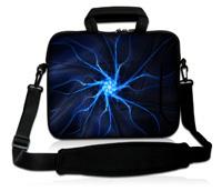 """Blue 13"""" 13.3"""" Neoprene Laptop Bag Sleeve Case + Shoulder Strap For Macbook Pro / Air"""