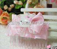 Hello Kitty hairpin Cartoon hair pin Lovely hair accessories Gift headwear hair comb
