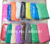 Free shipping,LILSIS Air Hardening Super Light Dough,60g/bag,about 1000g/lot,16 colors assorted