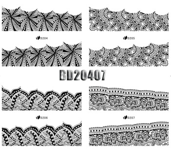 12 design New arrival leopard Water Transfers Stickers Nail art Decals 10 Sheets/Lot multi-style Free Shipping(NS18)