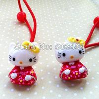 Hello Kitty headband hairbands hairclips Cute pink Hello kitty in kimono
