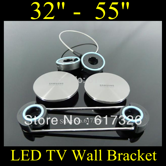 LCD Bracket LED TV Wall Mount,tilt&swivel led mount and ceiling bracket hot sell/free shipping(China (Mainland))