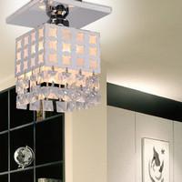 Crystal lamp entrance lights modern brief lamps bl1034-1