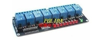 1PCS 8 Channel 5V Relay Module Shield for Arduino ARM PIC AVR DSP New condition