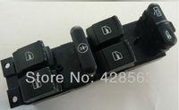 Free Shipping  New Power Vw Window Master Switch 1J4 959 857 ,1999-2004 Golf / Jetta / Bora MK4  Passat B5 / B5.5 (SCP)