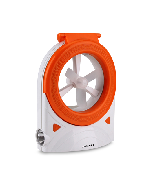 Love lamp fan multifunctional rechargeable battery fan big mini portable desktop(China (Mainland))