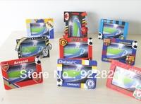 New arrival ! Free shipping football fan photo frame with arsenal inter/ac milan barca man u Team logo ,football fans souvenirs