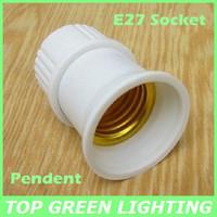 5 x Pendent Lamp Base E27 Socket for Light Bulb E27 Lamp Holder Pendent E27 Screw Type Base