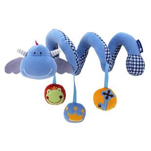 Animal baby multifunctional lathe hang bed toy newborn baby rattles 0-1 ring toy 1(China (Mainland))