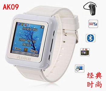 2013 smart watch mobile phone mini pocket-size mini ultra-small personality mobile phone(China (Mainland))