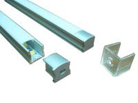 Aluminum Profile for LED Ligting, 15mm recessed aluminum LED profile without flange, HS-ALP004-R