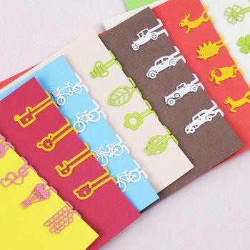 Bookfriends style metal clip paper clip bookmark 8 8