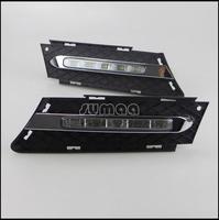 Free Shipping By EMS/Fedex LED DRL,LED Daytime Running Lights for BMW 3 series E90 320 318 325 330 2005-2008,5pcs OSRAM LED