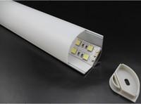 Aluminum Profile for LED Ligting, big size Aluminum LED profile for corner, HS-ALP016-R